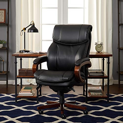 LaZBoy 45782A La-Z-Boy Trafford Chair Big/Tall Air Technology, Executive, Black