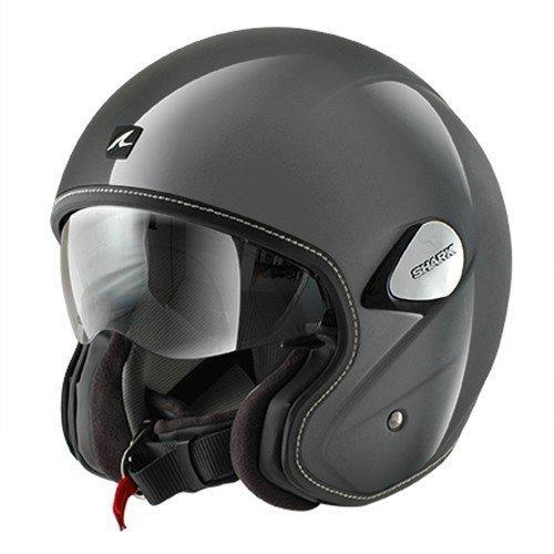 Shark Helmets Unisex-Adult Heritage Helmet (Silver, X-Large)