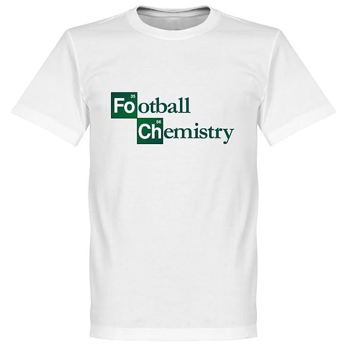 Química - Camiseta de fútbol, Color Blanco Blanco Blanco 4XL: Amazon.es: Ropa y accesorios