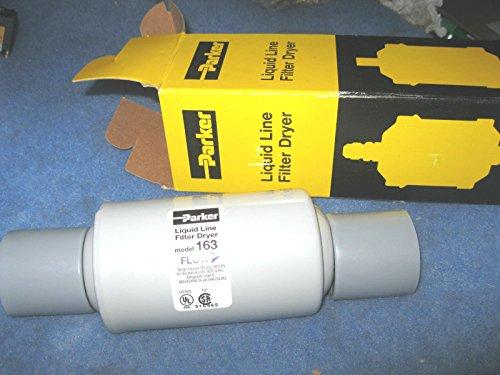 Parker Hannifin 163 Gold Label Steel Liquid Line Filter-Drier, 3/8