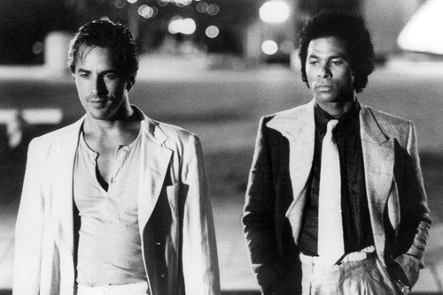 Miami Vice Don Johnson Philip Michael Thomas 24x36 Poster