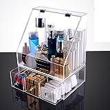 ash-proof finishing box with lid/Transparent skin storage box/Desktop storage box-E