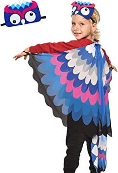 New Children Kids Cape Mask Fancy Dress High Quality Costume Party