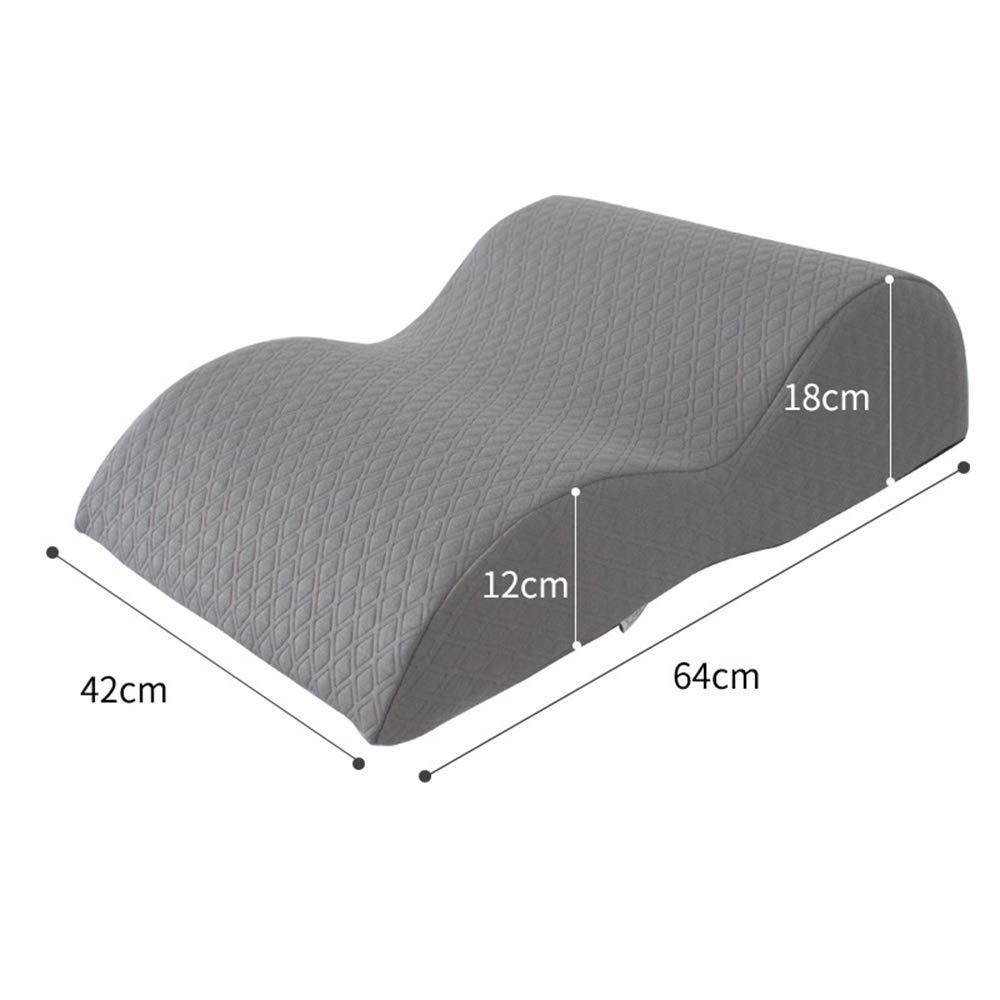 F Leg Rest Pillow with Memory Foam Pregnant Woman Bed Lift Leg Pad Vein Pad Leg Pillow Leg Pillow Foot Pillow Sleeping Pillow,F