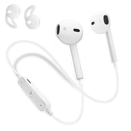Auriculares Inalambricos Bluetooth 4.2, Sin Cable con Micrófono Cancelación de Ruido Mini Earbuds Deportivos con