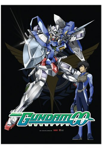 Great Eastern Entertainment Gundam 00 Exia and Setsuna Wall Scroll, 33 by 44-Inch -