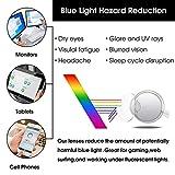 Designer Blue Light Blocking Computer Glasses Metal