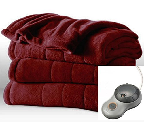 Heated Blanket Sunbeam Microplush Imperial product image