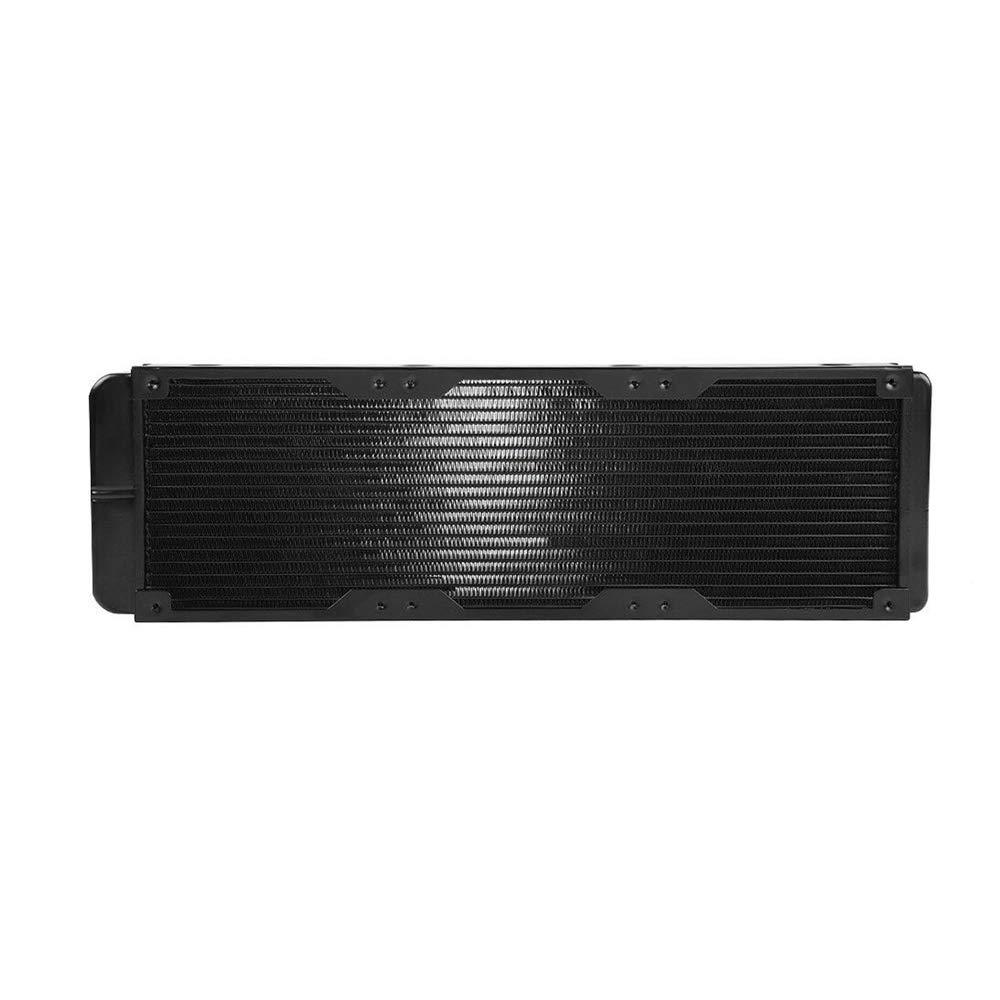 Velidy 360mm Computer Water Cooling Radiator Copper 18Tube Heat Exchanger CPU Heat Sink