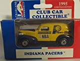 Indiana Pacers 1995 Matchbox Diecast '39 Chevy Sedan NBA 1:63 Scale Collectible Car Australia Release Club Car