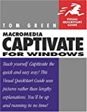 Macromedia Captivate for Windows, Tom Green, 0321294173