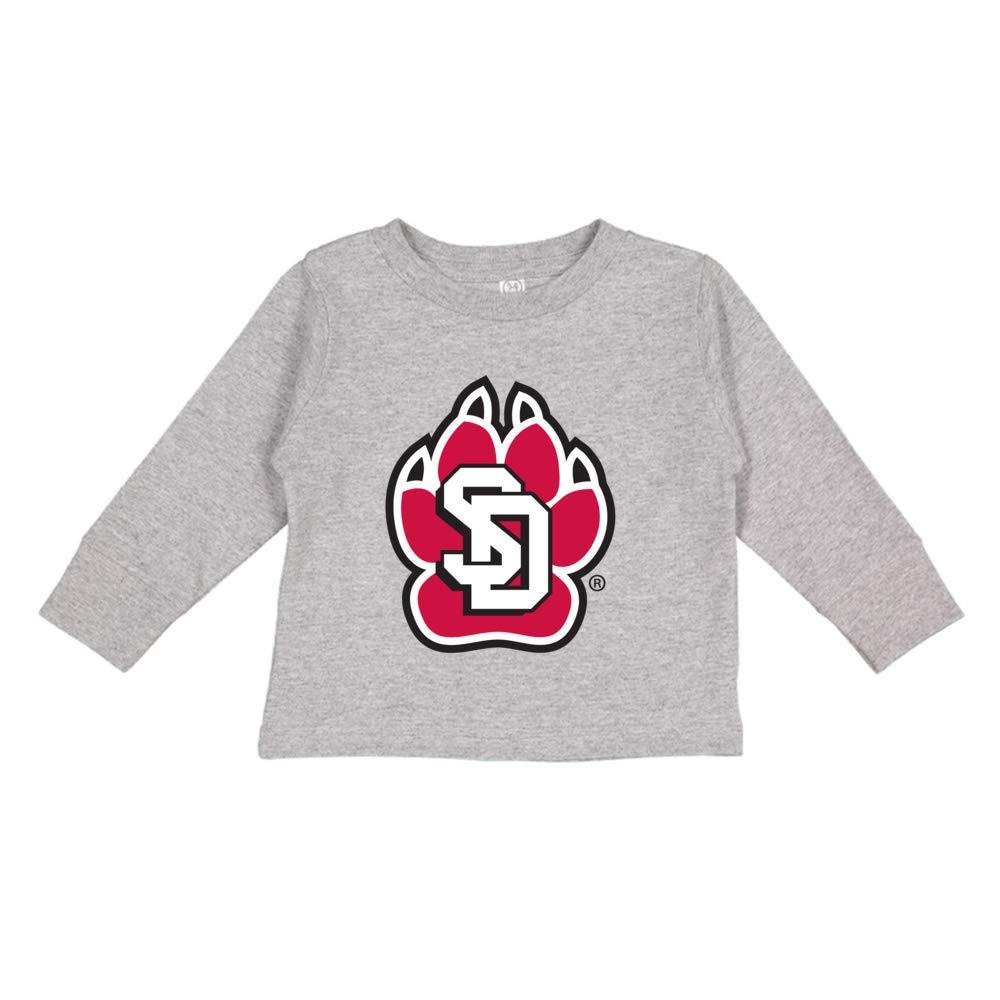 NCAA South Dakota Coyotes PPSDU004 Toddler Long-Sleeve T-Shirt