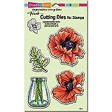 Stampendous Pretty Poppies Stamps & Dies Set - 2