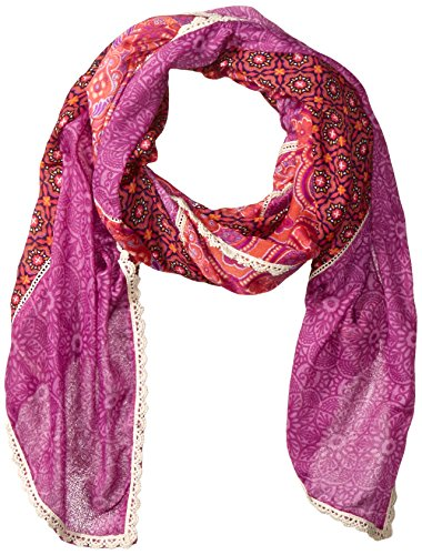 PrAna Women's Carmen Scarf, Neon Orange, One Size