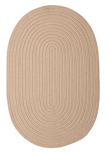 Boca Raton Polypropylene Braided Rug, 2-Feet by 4-Feet, (Boca Raton Linen)