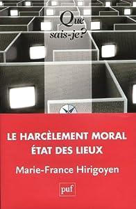 """Afficher """"Le harcèlement moral au travail"""""""