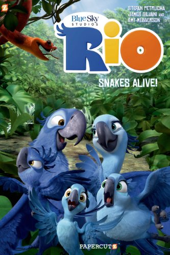 Snake Graphic - Rio #1: Snakes Alive! (Rio Graphic Novels)