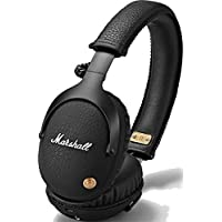Marshall Monitor Bluetooth Wireless Over-Ear Headphone, Black (04091743)