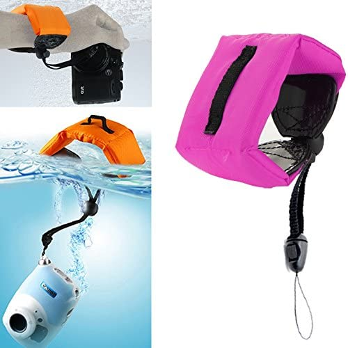 Xiaoyi and Other Action Cameras //3 //2 //1 Dark Camera Carrying Travel Protective Case Submersible Floating Bobber Hand Wrist Strap for Gopro Hero GoPro NEW HERO //HERO6 //5 //5 Session //4 Session //4 //3