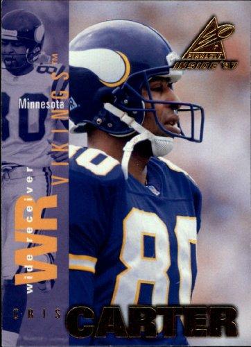 (1997 Pinnacle Inside Football Card #70 Cris Carter)