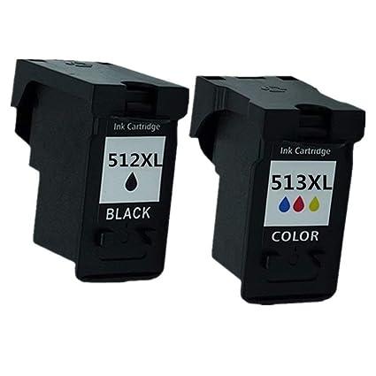 Cartuchos de tinta de repuesto para impresora de inyección de tinta Canon Pixma MX330 MX340 MX350 MX360 MX410 MX420 MP260 MP270 MX320 PG 512 XL PG512 ...