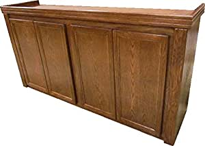 R&J Enterprises ARJ40149 Xtreme Series Oak Wood Aquarium Cabinet Stand, 72 by 18-Inch, Cherry
