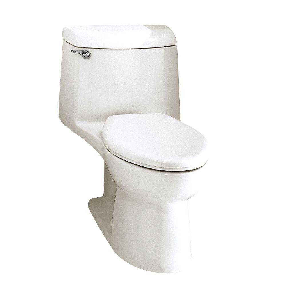 American Standard 2004.014.020 Champion-4 Elongated One-Piece Toilet, White by American Standard (Image #1)