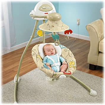 Fisher-Price Cradle Swing – Animal Krackers