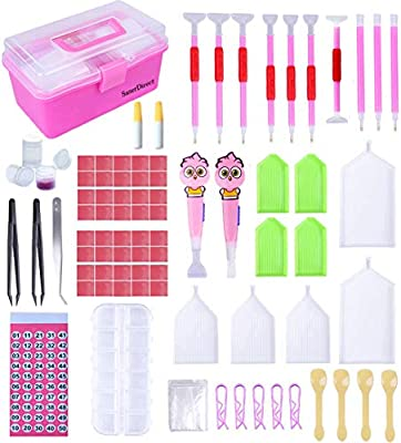 JOOFFF Point Pen DIY Diamond Painting Tools Cross Stitch Accessories Drill Pen Grips Painting Sticky Pen Double Point Drill Pen