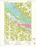 YellowMaps Winona West MN topo map, 1:24000 Scale, 7.5 X 7.5 Minute, Historical, 1972, Updated 1975, 27.57 x 22.06 in