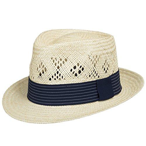 c5c6e26c7b715 FELLINI HAVANA STINGY BRIM Panama Straw Hat DRESS 7 3 8