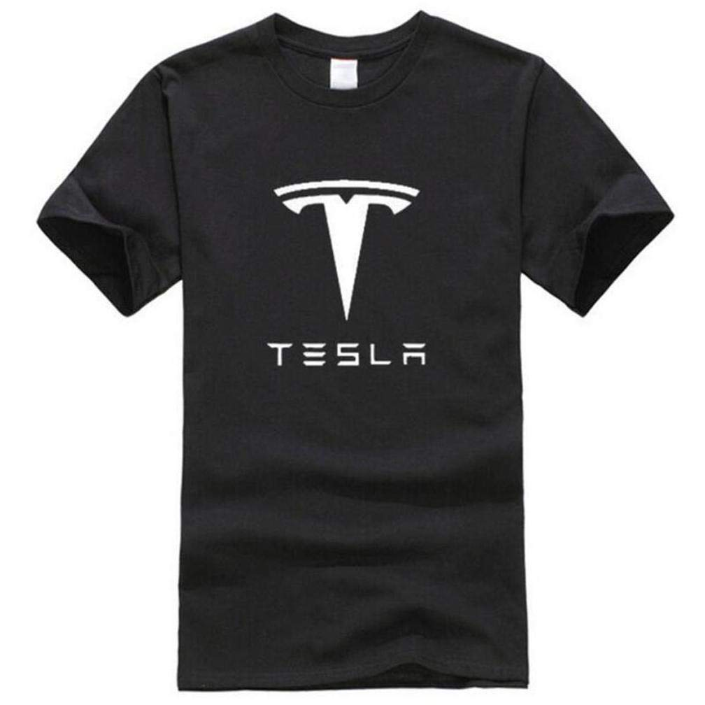 New Tesla S Printing S Funny Short Sleeves Shirts