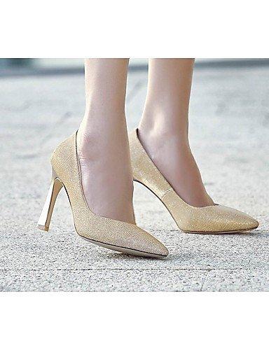 ShangYi Damenschuhe - High Heels - Hochzeit / Büro / Party & Festivität - Lackleder - Stöckelabsatz - Absätze / Spitzschuh / Modische Stiefel - , black-us8 / eu39 / uk6 / cn39 , black-us8 / eu39 / uk6