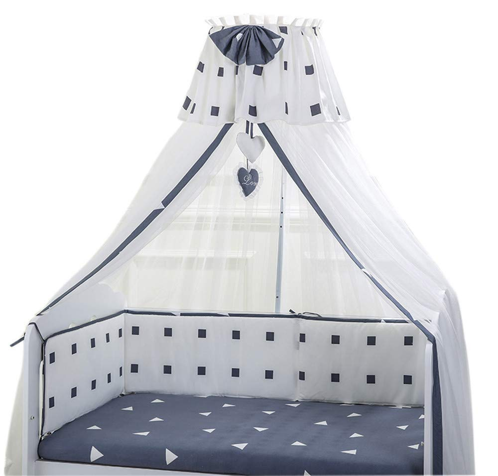 Baby Mosquito net Baby Bed Insect Cover Bracket Child encryption Court Lift Newborn Decorative Mosquito net Cover, Black, 2.26.5M