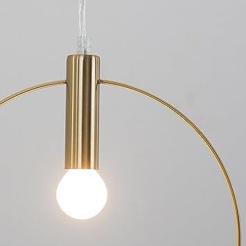 KMYX Lámpara de Techo Moderna Lámpara de araña de Hierro ...
