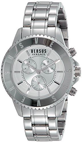 Versus-by-Versace-Mens-SGN110015-TOKYO-CHRONO-Analog-Display-Quartz-Silver-Watch