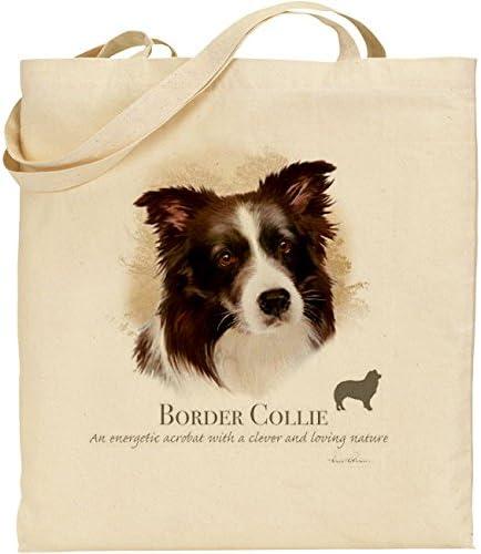 Howard Robinson Border Collie Sac en coton naturel