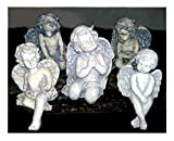 FORMDEKOR-UA Polyurethane Flexible Form Five Angels | Polyurethane Forms | Polyurethane Texture | Polyurethane Stamping | Figurine Decor | Garden Decor | Garden Statue | Garden Figures