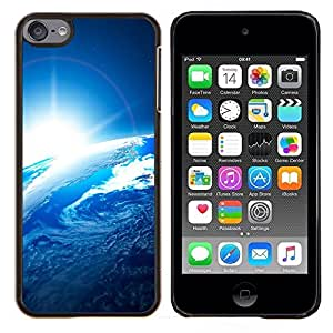 Be-Star Único Patrón Plástico Duro Fundas Cover Cubre Hard Case Cover Para iPod Touch 6 ( Galassia Stelle 54 )