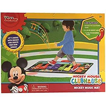 Amazon Com Disney Junior Mickey Mouse Music Mat Toys Amp Games