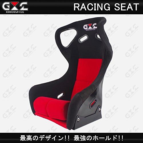 GOODGUN RACING レーシングシート レッド B071Y4YHM9