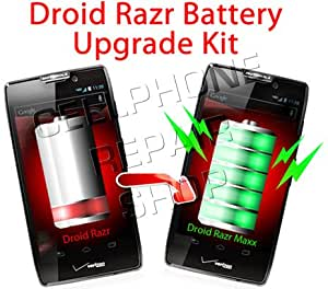 Motorola Droid Razr Extended Battery Conversion Kit (Convert Your Droid Razr Battery to a Droid Razr MAXX & Get Almost 3 Times the Power)