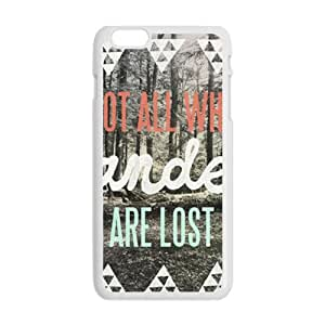 KKDTT Wesley Bird Not All Who Wander Are Lost Cell Phone Case for Iphone 6 Plus