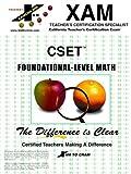 CSET Foundational Level Math, , 1581973799