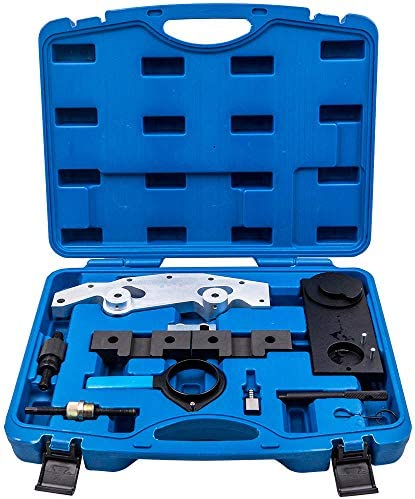 maXpeedingrods Timing Tool Set Kit for BMW Double VANOS Camshaft 6 Cylinder 1998-04 M54TU M56