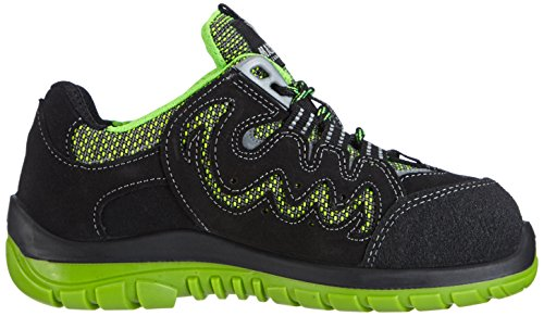 Maxguard Peac P380, Chaussures de sécurité Mixte adulte, Multicolore (grün/schwarz), Taille 40