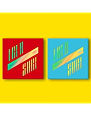 KQ ATEEZ - Treasure EP.3 : One To all [Illusion+Wave Ver. Set] 2CD+2Photobooks+6Photocards+16Postcards+On Pack Posters+Stickers+Double Side Extra Photocards Set