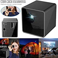 Gizayen P1S Mini Cube Projector DLP HD 1080P Home Cinema ...