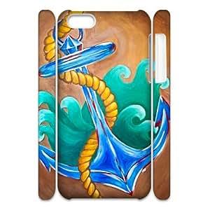 ZK-SXH - Tribal Nautica Personalized 3D Phone Case for iPhone 5C, Tribal Nautica Customized 3D Cell Phone Case