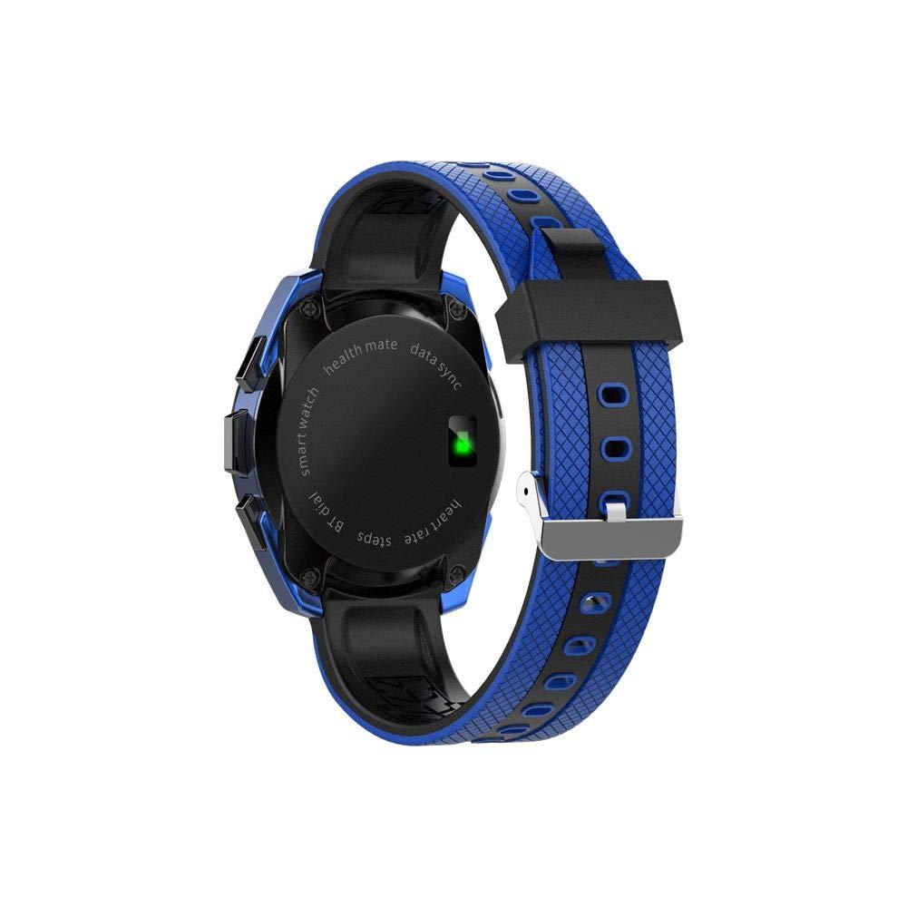 Montre Mixte EclocK à Quartz Cadran Noir 42.5 * 51 * 9.9mm Et Bracelet Noir en Silicone EK-F11: Amazon.fr: Montres